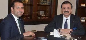 """TTO Başkanı Olgun, """"Bürokrasi azalıyor"""""""