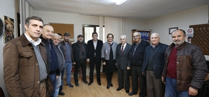 Başkan Pekdaş'tan esnaf odalarına ziyaret