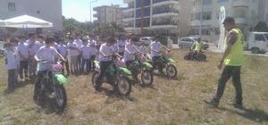 Umurbey Belediyesi'nden 'Güvenli Motosiklet Eğitimi' projesi