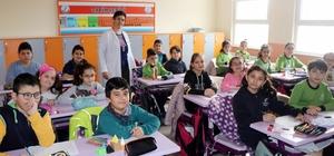 Nevşehir'de öğrenciler Afrin'deki Mehmetçik için mektup yazdı
