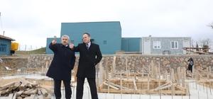 Başkan Baran, İlimtepe'deki çalışmaları yerinde inceledi