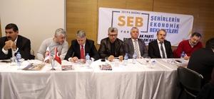 """Tekirdağ'da """"Şehirlerin Ekonomik Beklentileri Forumu"""""""