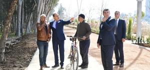 Yaşar Kemal Yürüyüş Parkuru yeniden dizayn ediliyor