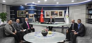 Belediye Başkanı Dursun Ay dernek başkanlarını ağırladı