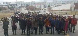 Uşak Üniversitesinden Afrin'deki Mehmetçiğe asker selamı