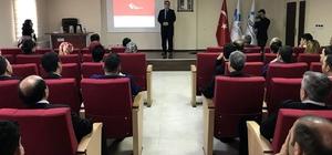 Siirt'te 'Kadına Yönelik Şiddetle Mücadele' semineri verildi