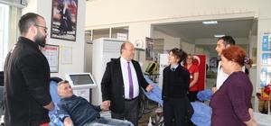 Efeler Belediyesi'nden Kızılay'a 36 ünite kan bağışı