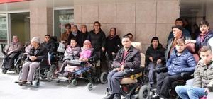 Sakatlar Derneği üyelerinden Mehmetçiğe anlamlı destek