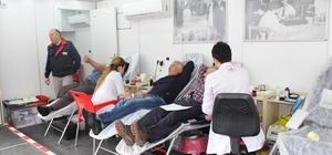 Mehmetçikler için kan bağışı
