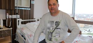 Bulgaristan Razgrad Valisi tedavi için Edirne'yi seçti