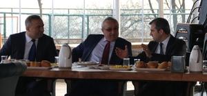 Başkan Yemenici okul müdürleriyle bir araya geldi