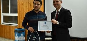 Yamaç paraşütü kursiyerleri sertifikalarını aldı