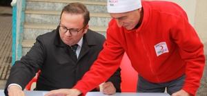 Divriği'de Mehmetçik için kan bağışı kampanyası