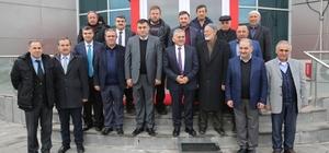 Başkan Büykkılıç, Meyve ve Sebzeciler Komisyoncular Derneğini ziyaret etti