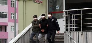 Kastamonu'da parkta esrarla yakalanan şahıs tutuklandı