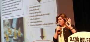 Elazığ'da bitkiler hakkında konferans verildi