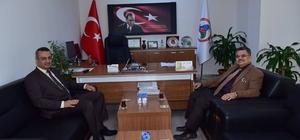 Başkan Yağcı Ticaret İl Müdürü Balta ile bir araya geldi