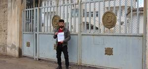 Silopili 2 çocuk babası Afrin'e gitmek için dilekçe verdi