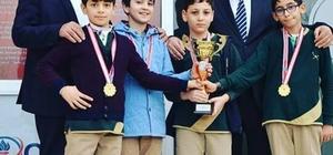Özel Bilge Olimpiyat Okulları öğrencileri il birincisi oldu