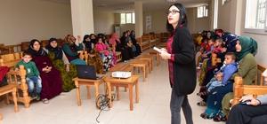 Sağlıklı anne ve sağlık bebek için eğitimler devam ediyor