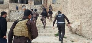 Mardin asayiş uygulaması: 7 gözaltı