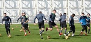 Konyaspor'da, Akhisarspor maçı hazırlıkları