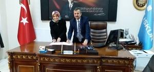 Kütahya İŞKUR ile Polis Eşleri Derneği arasında girişimcilik protokolü