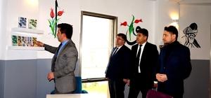 Sarıgöl'de öğretmenler okula kütüphane kazandırdı