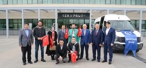 Uşak Üniversitesi öğrencilerinden Zeytin Dalı Harekatı'na destek