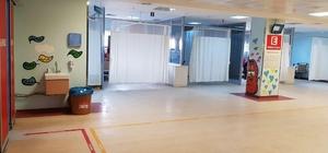 Mardin Devlet Hastanesi acil servisi yenilendi