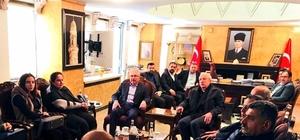Milletvekili Orhan Miroğlu'ndan Vali Yaman'a ziyaret