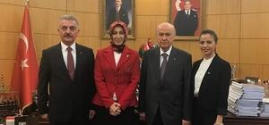 MHP Bursa'dan KADINA 3 EVET projesi