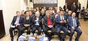 Tokat'ta inşaatçılara iş sağlığı ve güvenliği semineri