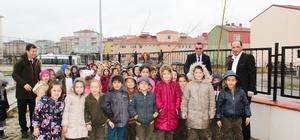 """İsmet İnönü İlkokulundan """"Her Sınıf Bir Fidan"""" kampanyası"""