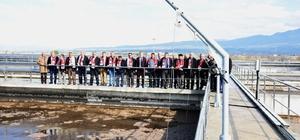Turgutlu'nun muhtarları çevreci tesise hayran kaldı