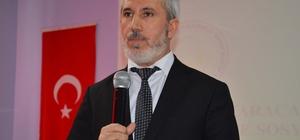 Müftü Bozkurt'tan 'Kur'an ve sünnet ilişkisi' konferansı