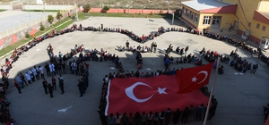 Turhal Cumhuriyet Anadolu Lisesi öğrencilerinden Mehmetçiğe destek