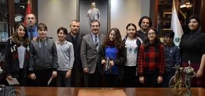 Şenlikli Toplum Platformu'ndan Ataç'a ziyaret