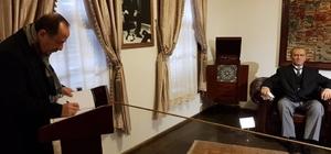 Recep Gürkan Atatürk Evi'ni gezdi