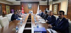 Islah organize sanayi bölgesi komisyon toplantısı yapıldı