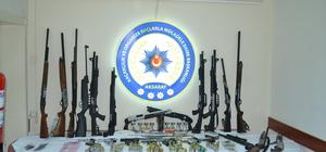 Aksaray'da suç örgütü operasyonu