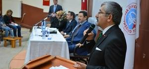 Yerel Yönetimlerde Geleneksel Kent Dokusunda Zile Örneği konferansı