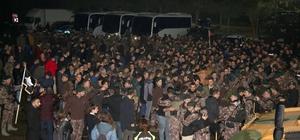 Özel harekat polisleri Afrin'e uğurlandı