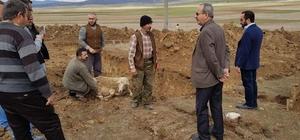 Aslanapa'da hayvan pazarının inşaatına başlandı