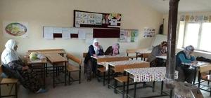 Köylerdeki okuma yazma kurslarına ilgi