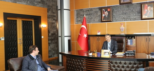 TÜGVA'dan Başkan Alemdar'a ziyaret