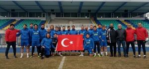 Kütahyasporlu futbolculardan Mehmetçiklere 'yanınızdayız' mesajı