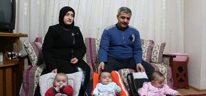 Üçüzleri olan 7 çocuklu Suriyeli ailenin yaşam mücadelesi