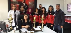 Diyarbakır'da okullararası kort tenisi müsabakaları