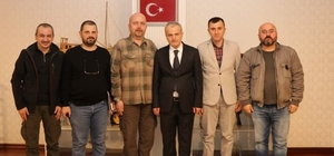 BAKTRAD yönetimi Vali Dirim'i ziyaret etti